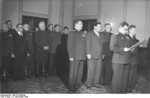 Vasily Chuikov and Alexander Kotikov, Berlin, East Germany, 11 Nov 1949, photo 2 of 2
