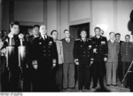 General Vasily Chuikov and Ambassador Vladmir Semyonov at the founding of East Germany, Berlin, 7 Oct 1949, photo 1 of 5