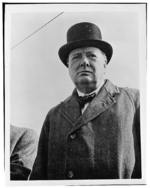 Portrait of Churchill, circa 1942