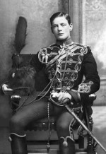 Portrait of Subaltern Winston Churchill of the UK 4th Hussars, Feb 1895