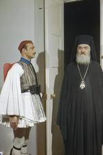 Archbishop Damaskinos, Athens, Greece, 15 Feb 1945