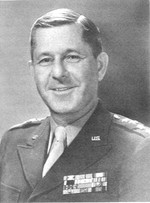 Portrait of US Army General Jacob Devers, circa 1945-1949