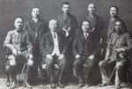 Kenji Doihara and other Japanese diplomats and spies, 1918