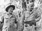 General Thomas Blamey and Lieutenant General Robert Eichelberger, 14 Jan 1943