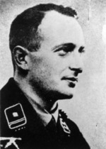Portrait of Eichmann in SS uniform, 1933
