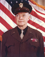 Portrait of Eisenhower, 31 Dec 1943