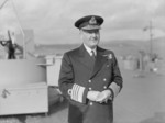 Admiral Bruce Fraser on the occasion of his British Royal Navy Home Fleet appointment, 8 May 1943