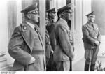 Krebs, Frick, and Henlein in Sudetenland, Czechoslovakia, 23 Sep 1938