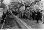 Frick at a cemetery in Sudetenland, Czechoslovakia, 23 Sep 1938, photo 1 of 5