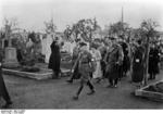 Frick at a cemetery in Sudetenland, Czechoslovakia, 23 Sep 1938, photo 4 of 5