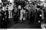 Frick at a cemetery in Sudetenland, Czechoslovakia, 23 Sep 1938, photo 5 of 5