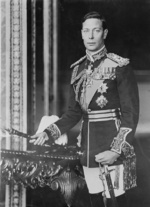 Portrait of King George VI of the United Kingdom, 1940s