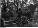 Lord Halifax and Hermann Göring in Schorfheide, Germany, Oct 1937