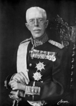 Portrait of King Gustaf V of Sweden, 1930s