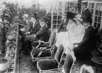 Prince William, King Gustaf V of Sweden, and Crown Prince Gustaf observing the Games of the V Olympiad, May-Jul 1912