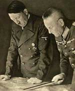 Halder briefed Hitler on the situation on the Russian Front, 1941