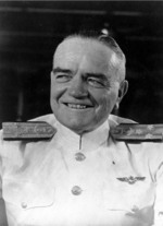 Portrait of Vice Admiral Halsey, circa 1941