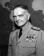 Portrait of Admiral William Halsey, 10 Jul 1945; photo probably taken at Navy Department building, Washington DC, United States