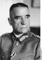 Portrait of German Army Lieutenant General Walter Heitz, President of the Reichs War Court, Oct 1936