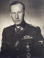 Official portrait of Heydrich, Munich, Germany, 1942