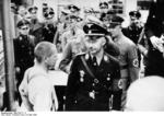 SS-Reichsf?hrer Heinrich Himmler visiting Dachau Concentration Camp, Dachau, Germany, 8 May 1936