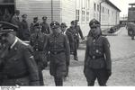 SS officers at the Mauthausen Concentration Camp during Heinrich Himmler