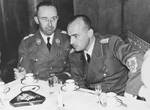 Himmler with Hans Frank at Krakow, date unknown
