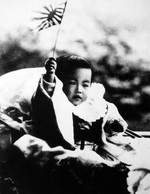 Prince Hirohito of Japan at the age of 1, 1902