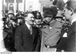 Adolf Hitler and German Crown Prince Wilhelm at Potsdam, Germany on Potsdam Day, 21 Mar 1933