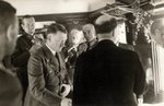 Adolf Hitler in a railcar in Finland, 4 Jun 1942