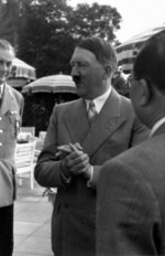 Adolf Hitler and Kong Xiangxi (H. H. Kung) at Berghof, Berchtesgaden, Germany, 13 Jun 1937, photo 03 of 10