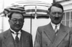 Adolf Hitler and Kong Xiangxi (H. H. Kung) at Berghof, Berchtesgaden, Germany, 13 Jun 1937, photo 05 of 10