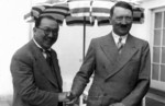 Adolf Hitler and Kong Xiangxi (H. H. Kung) at Berghof, Berchtesgaden, Germany, 13 Jun 1937, photo 08 of 10