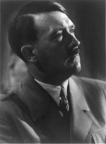 Portrait of Adolf Hitler, circa 1934
