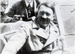 Adolf Hitler in a convertible, date unknown