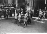 Adolf Hitler and his military commanders on Heroes Remembrance Day, Mar 1935