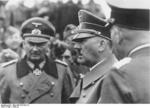 Adolf Hitler inspecting troops in France with Günther von Kluge, Jun 1940