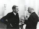 British Foreign Minister Anthony Eden and US Secretary of State Cordell Hull in conversation, date unknown