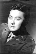 Portrait of Captain Daniel Inouye, late 1940s