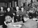 Prince Josias at the Buchenwald trial, Dachau, Germany, 14 Aug 1947