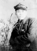 Portrait of Kiyoharu Kawada (born Roh Yong-U), student of Keijo University in Keijo (Gyeongseong, now Seoul), occupied Korea, date unknown