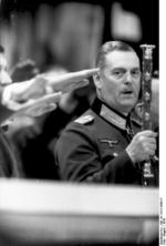German Field Marshal Keitel at a state event, Germany, 1942