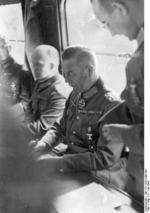 Wilhelm Keitel at the French surrender, Compiègne, France, 22 Jun 1940