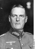 Portrait of Major General Wilhelm Keitel, 1934-1936