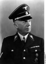 Portrait of German Chief of the Reich Chancellery Hans Lammers in SS uniform, circa 1938-1940