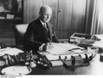 German Chief of the Reich Chancellery Hans Lammers in his office, circa 1937