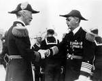 Admiral Joseph Reeves passed the duty of Commander of Battle Force to Leahy, Jun 1936