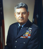 Official US Air Force portrait of Curtis LeMay, late 1950s or early 1960s