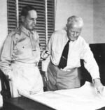 General Douglas MacArthur and Admiral Chester Nimitz, 1942-1944