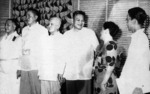 Sergio Osmeña, Ramón Magsaysay, and others, 16 Mar 1957
